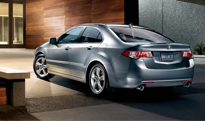 2009 Acura TSX, back view, exterior, manufacturer