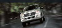 2008 Mercury Mountaineer, front view, exterior, manufacturer