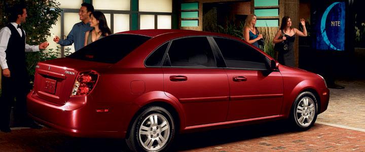 2008 Suzuki Forenza, exterior, manufacturer