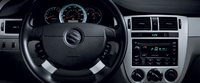 2008 Suzuki Forenza, steering wheel, interior, manufacturer