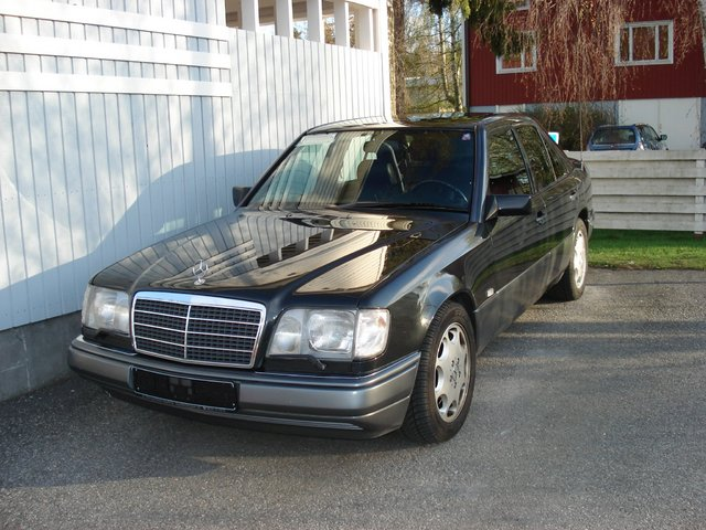Picture of 1994 mercedes benz e class e420 exterior for 1994 mercedes benz e class