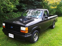 1992 Ford Ranger Custom Standard Cab LB, Picture of 1992 Ford Ranger 2 Dr Custom Standard Cab LB, exterior