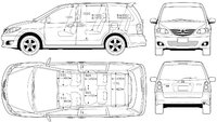 2006 Mazda MPV Picture Gallery