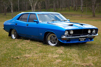 1973 Ford Falcon. The finished product after restoration., exterior