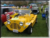 1967 Leyland Mini Moke Overview