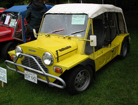 1980 Leyland Mini Moke Overview