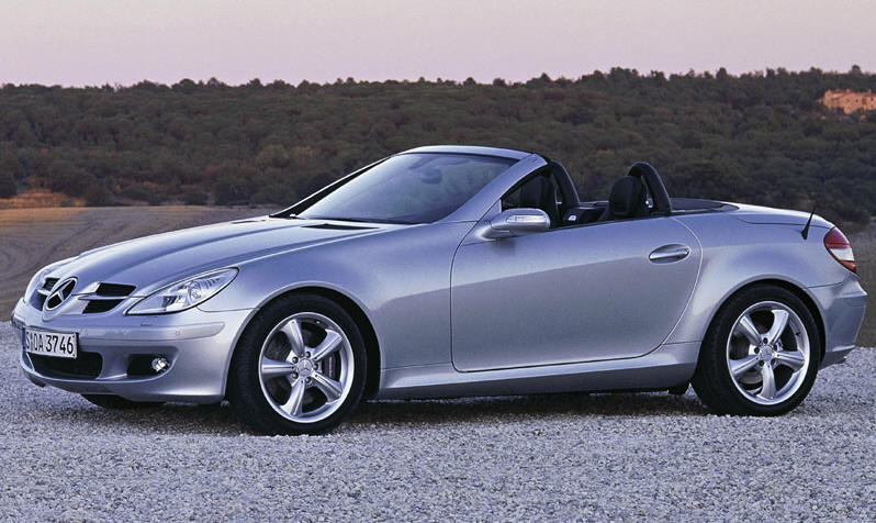 picture of 2005 mercedes benz slk class slk350 exterior. Black Bedroom Furniture Sets. Home Design Ideas