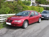 1997 Dodge Stratus, 1997 Chrysler Cirrus 4 Dr LX Sedan picture, exterior