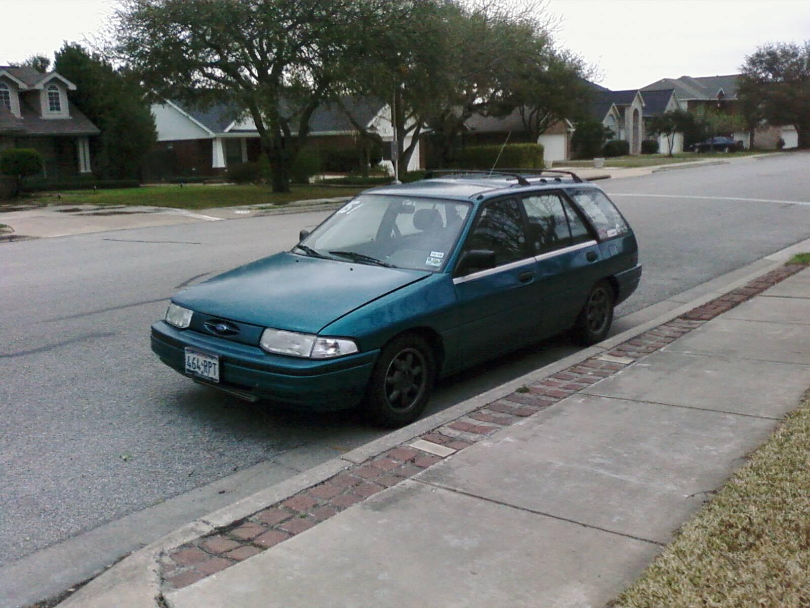 93 ford escort lx wagon