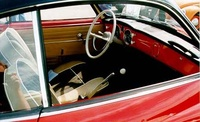 1959 Volkswagen Karmann Ghia picture, interior
