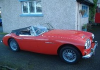 1966 Austin-Healey 3000 Overview