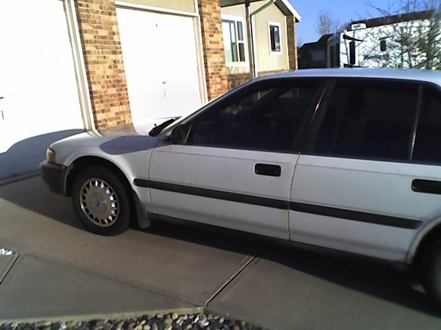 1990 Honda Accord Sedan. 1990 Honda Accord 4 Dr DX