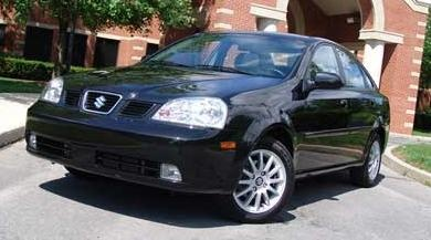 2005 Suzuki Forenza EX Sedan stock Picture.., exterior