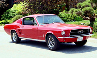 1967 Ford Mustang Fastback picture, exterior