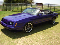 1985 Ford Mustang Base Convertible picture, exterior