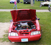 Picture of 1993 Ford Mustang LX 5.0 Hatchback, exterior, engine