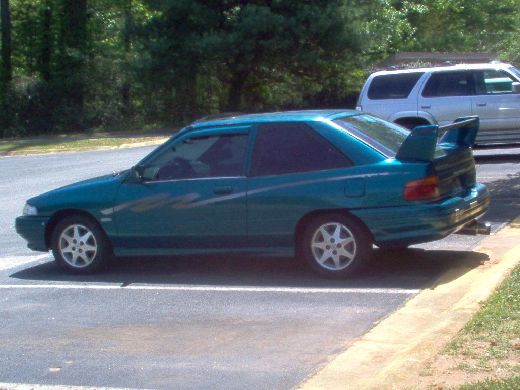 1996 Ford Escort GT Hatchback 2D