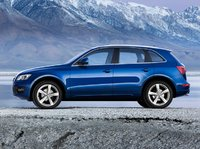 2009 Audi Q5, side view, manufacturer, exterior