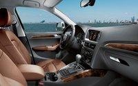 2009 Audi Q5, front seats, interior, manufacturer
