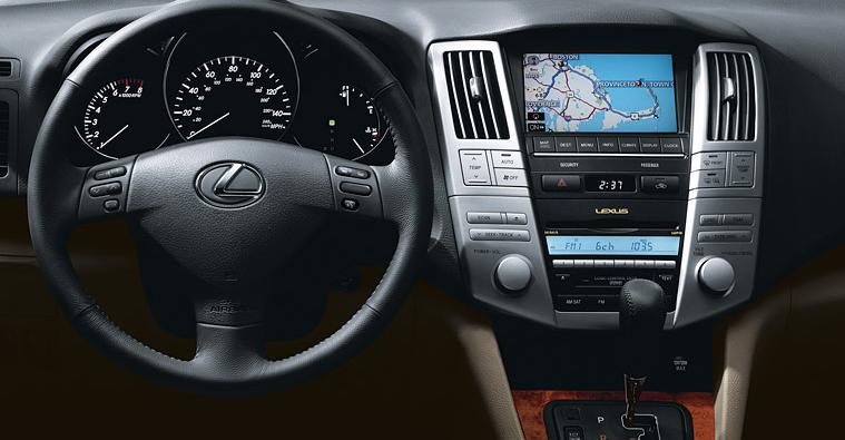 2009 Lexus Rx 350 Dashboard Interior Manufacturer