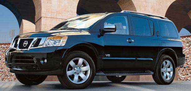 2009 Nissan Armada, exterior, manufacturer