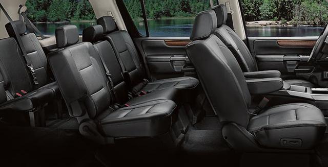 2009 Nissan Armada, seating, interior, manufacturer