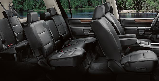 2009 Nissan Armada, seating, interior, manufacturer