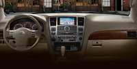 2009 Nissan Armada, dashboard, interior, manufacturer