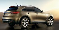 2009 Infiniti FX50, side view, manufacturer, exterior