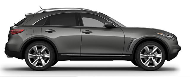 2009 Infiniti FX50, side view, exterior, manufacturer