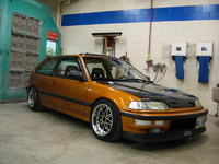 1991 Honda Civic Si Hatchback, Picture of 1991 Honda Civic 2 Dr Si Hatchback, exterior