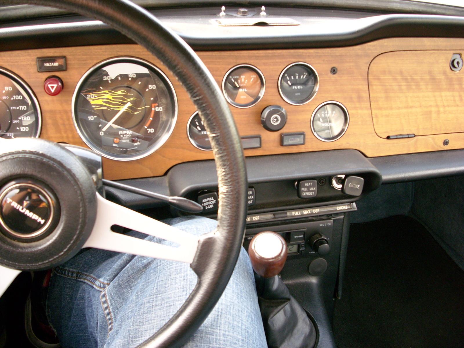 1974 Triumph Tr6 Interior Pictures Cargurus