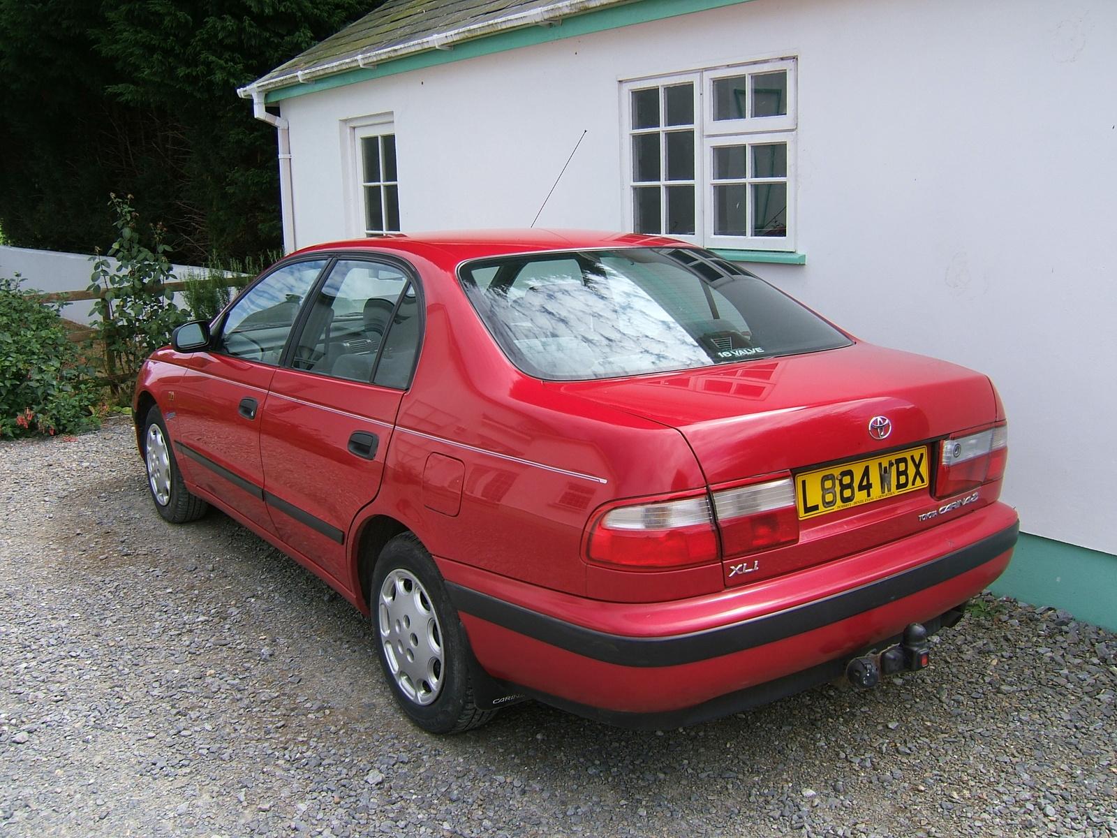 Toyota carina 1993 левый руль - 6