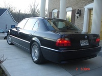 1998 BMW 7 Series 750iL, 1998 BMW 750 750Li picture, exterior