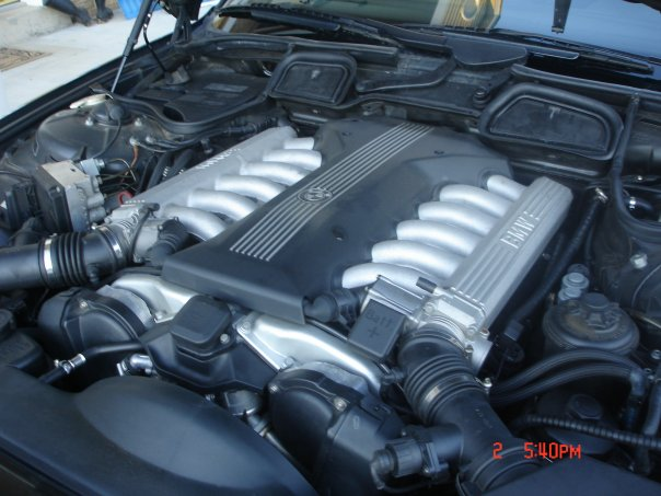 1998 BMW 7 Series 750iL, 1998 BMW 750 750Li picture, engine
