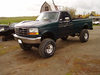 1992 Ford F-150 STD 4WD LB, 1992 Ford F-150 2 Dr STD 4WD Standard Cab LB picture, exterior