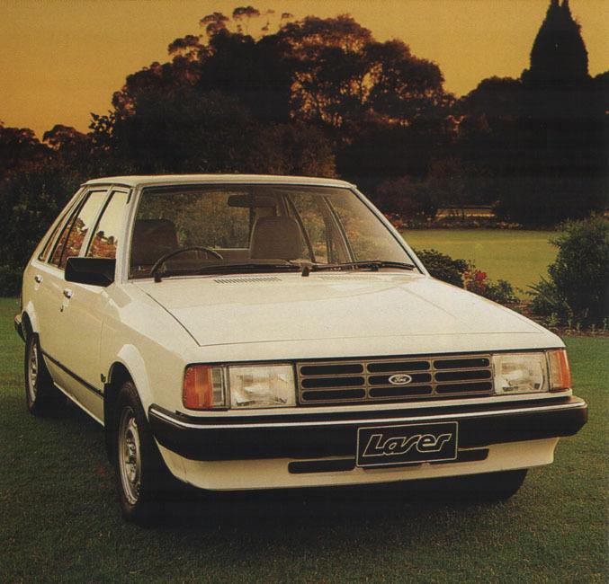 International Harvester Logo >> 1982 Ford Laser - Overview - CarGurus