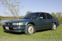 1991 Honda Accord EX, 1991 Honda Accord 4 Dr EX Sedan picture, exterior