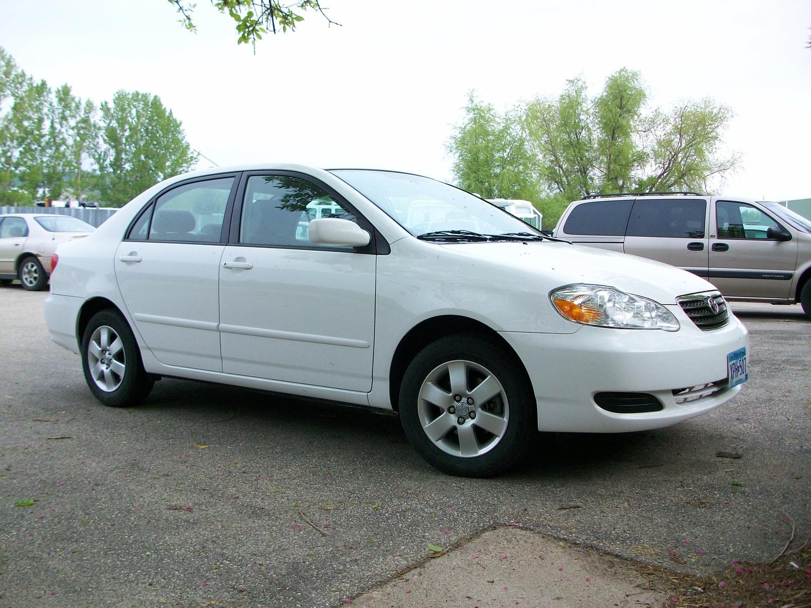 2007 Toyota Corolla Le Specs