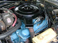 1973 Dodge Coronet picture, engine