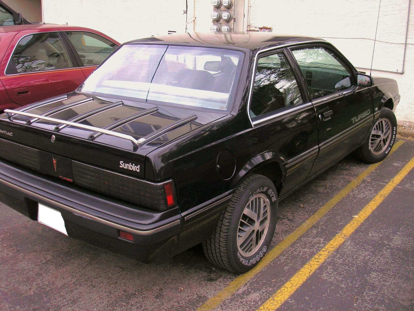 1985 Pontiac Sunbird Pictures Cargurus