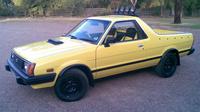 1983 Subaru BRAT Overview