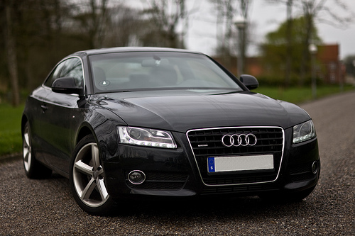 2008 Audi A5. 2008 Audi A5 Coupe picture,