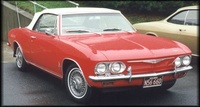 1965 Chevrolet Corvair picture, exterior