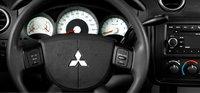 2008 Mitsubishi Raider, steering wheel, interior, manufacturer