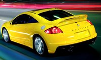 2009 Mitsubishi Eclipse, back view, exterior, manufacturer