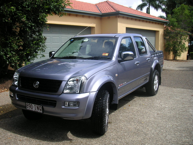 Picture of 2004 Holden Rodeo, exterior