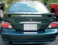 2001 Mitsubishi Galant ES V6, 2001 Mitsubishi Galant ES with TYC Carbon Fiber lights, with '05 Mustang GT spoiler installed by Me : )  ......, exterior, gallery_worthy