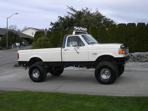 1996 ford f250 4x4 towing capacity