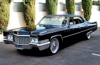 1970 Cadillac DeVille Picture Gallery
